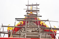 泰国古老的寺庙 免版税库存照片