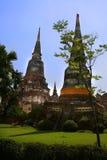 泰国古老的寺庙 免版税库存图片