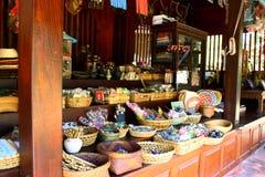 泰国古老的界面 库存照片