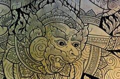 泰国古老的艺术 免版税图库摄影