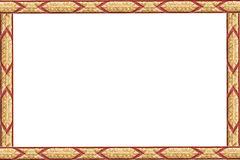 泰国古老艺术框架  库存图片