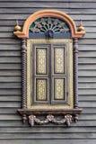 泰国古色古香的窗口在泰国 免版税库存图片