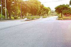 泰国和背景照片的城市公园 库存照片