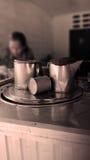 泰国咖啡壶 库存图片
