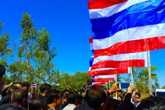 泰国国旗 图库摄影