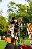 泰国国际气球节日2013年 免版税库存图片