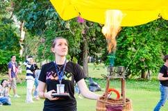 泰国国际气球节日2013年 免版税库存照片