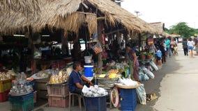 泰国地方市场 库存照片
