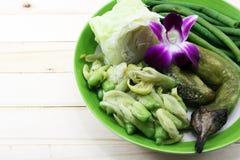泰国地方食物 免版税图库摄影