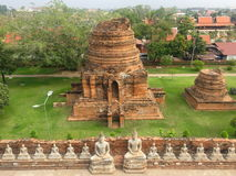 泰国塔 免版税图库摄影