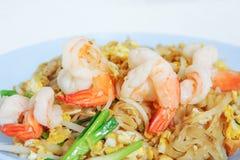 泰国填充的虾 免版税库存图片