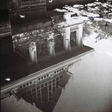 泰国大厦的反射 库存照片