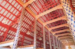 泰国大厦的样式 库存照片