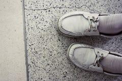 泰国大学鞋子 免版税库存图片