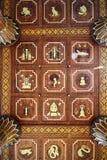 泰国天花板 库存照片