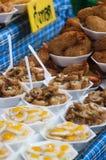 泰国天麸罗虾串 库存照片