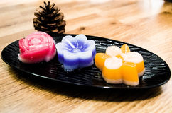 泰国夹心蛋糕 免版税图库摄影