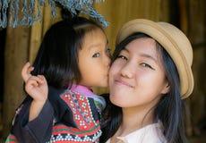 年轻泰国女孩 免版税图库摄影