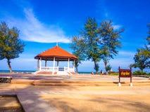 泰国好视图的海 库存图片