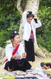 泰国妇女在越南 库存图片