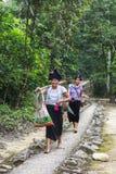 泰国妇女在越南 免版税图库摄影