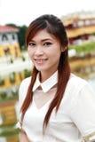 泰国妇女穿戴 免版税库存照片