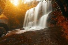 泰国威曼Thip瀑布惊奇 图库摄影
