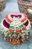 泰国婚礼花束 免版税库存照片