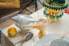 泰国婚礼 菜,食谱 库存照片