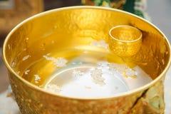 泰国婚礼 菜,食谱 免版税图库摄影