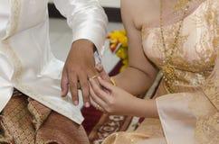 泰国婚礼 免版税图库摄影