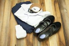泰国学生女孩制服 库存照片