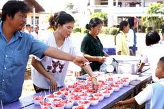 泰国学生 免版税库存图片