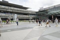 泰国孩子在泰国中心 免版税图库摄影
