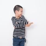 泰国孩子系列 免版税库存照片