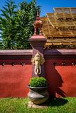 泰国宗教艺术 免版税库存图片