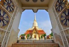 泰国寺庙。 免版税库存照片