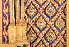 泰国寺庙书刊上的图片 免版税库存照片