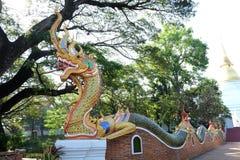 泰国寺庙入口  库存图片