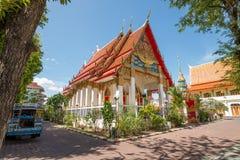 泰国寺庙在普吉岛 免版税库存图片