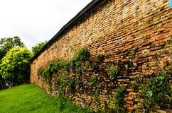 泰国寺庙外部墙壁  免版税库存图片