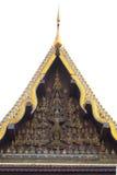 泰国寺庙大厦建筑学 免版税库存照片