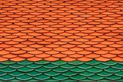 泰国寺庙屋顶 图库摄影