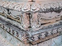 泰国寺庙山墙 库存图片