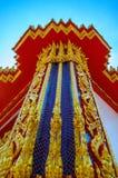 泰国寺庙杆  免版税库存图片