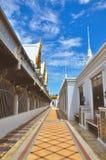 泰国寺庙柱子 免版税库存照片