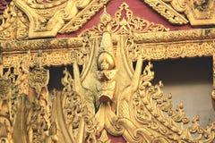 泰国寺庙槟榔岛 免版税库存照片