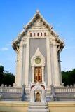 泰国现代样式寺庙 免版税库存照片