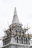 泰国寺庙的塔 免版税库存图片
