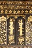 泰国寺庙窗口 免版税图库摄影